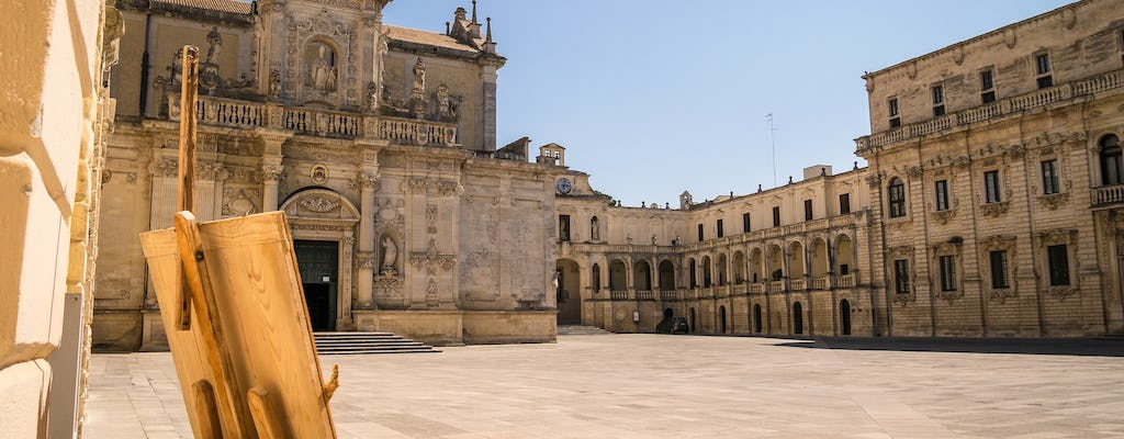 Private walking tour of Lecce with a local guide