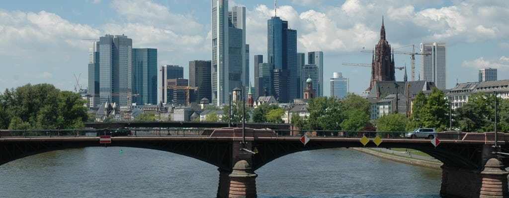Frankfurt 1-hour sightseeing tour by bus