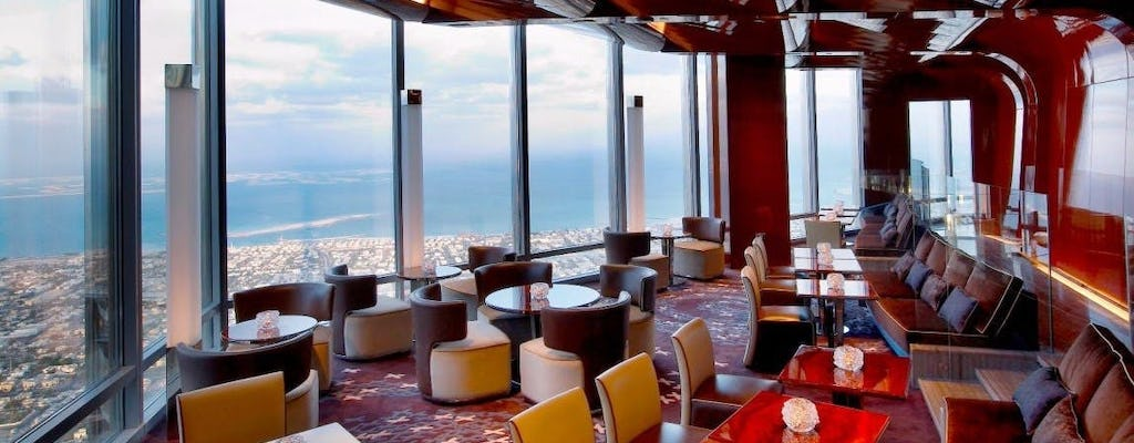At.Mosphere Burj Khalifa High Tea con posto vicino alla finestra e trasporto privato