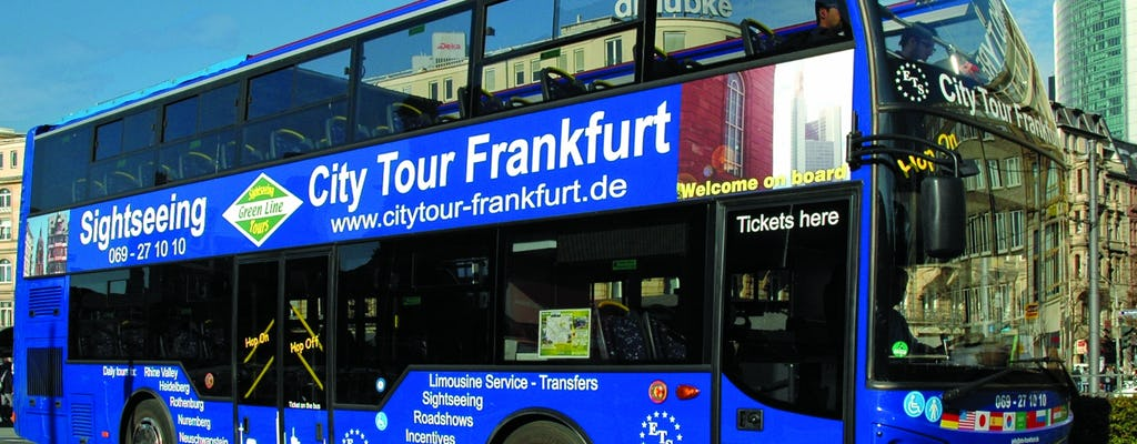 Frankfurt hop-on hop-off bus tour