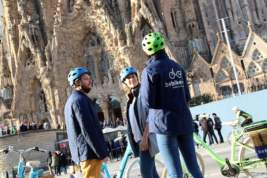 Barcellona Gaudí eBike tour
