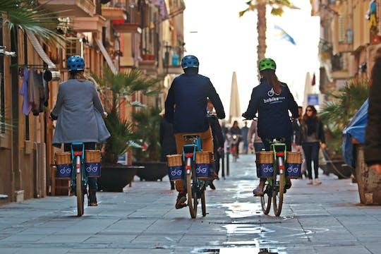 Visite historique de Barcelone en vélo électrique