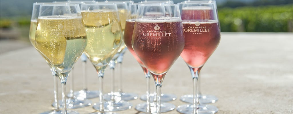 Tasting session at Champagne Gremillet near Troyes