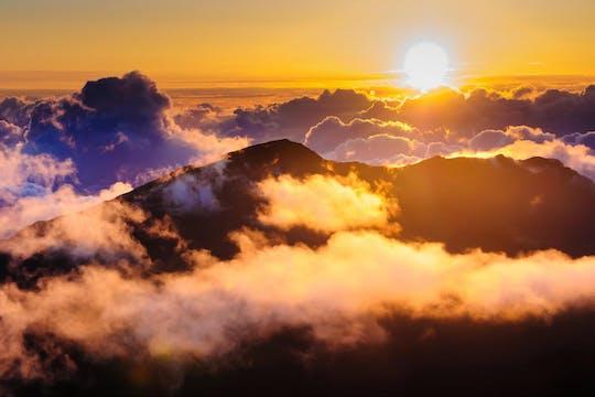 Maui spectacular Haleakala sunrise tour with breakfast