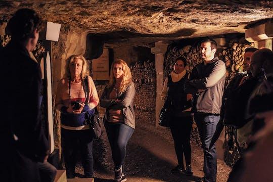 Paris Catacombs tour with access to secret rooms