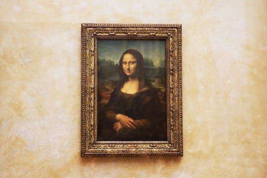 A sós com a Mona Lisa - último tour do dia pelo Louvre antes de fechar