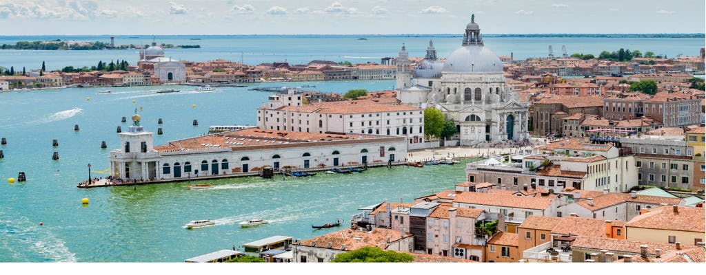 Venice boat tour with Grand Canal and Tower climb