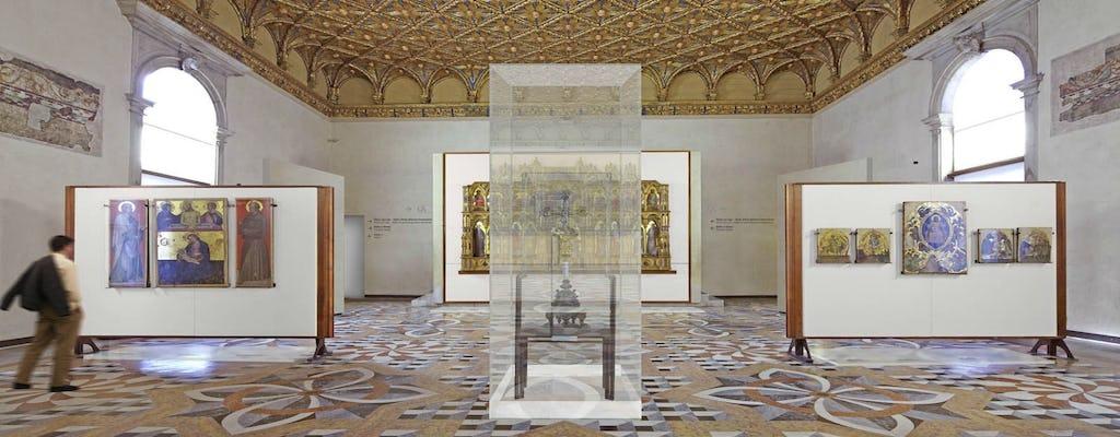 Omita la visita guiada por la línea de las Galerías de la Academia y el inusual recorrido a pie por Venecia