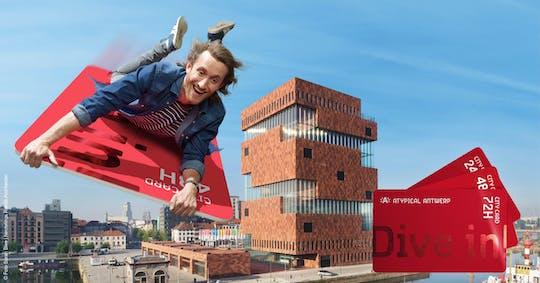 Antwerpen City Card voor 24, 48 of 72 uur
