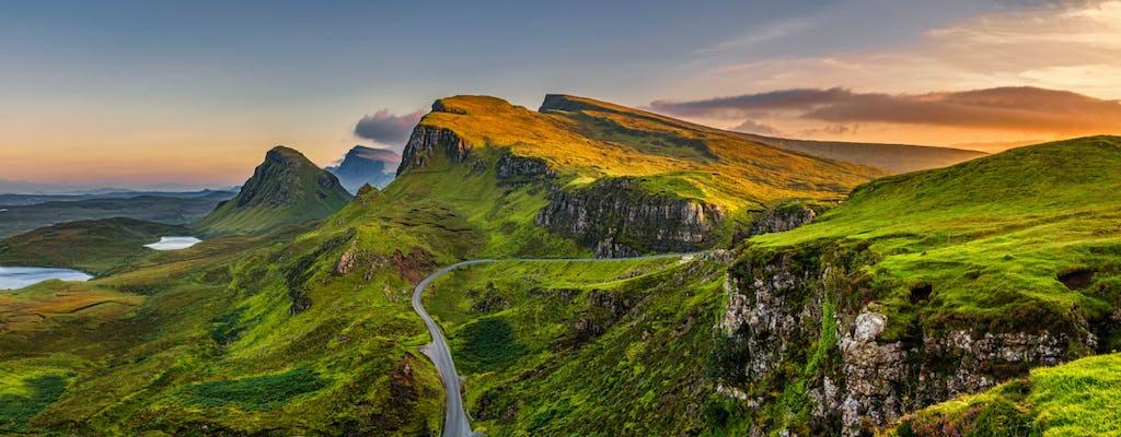 Visita al castillo de la isla de Skye y Eilean Donan