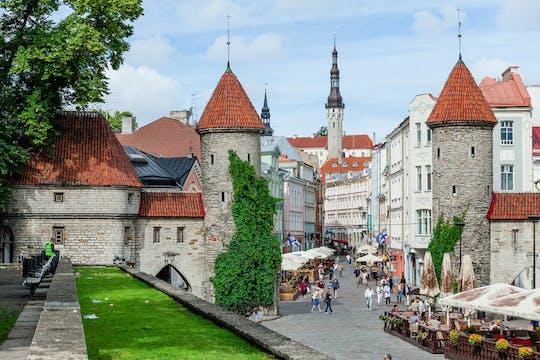 Tallinn self-balancing scooter and food tour