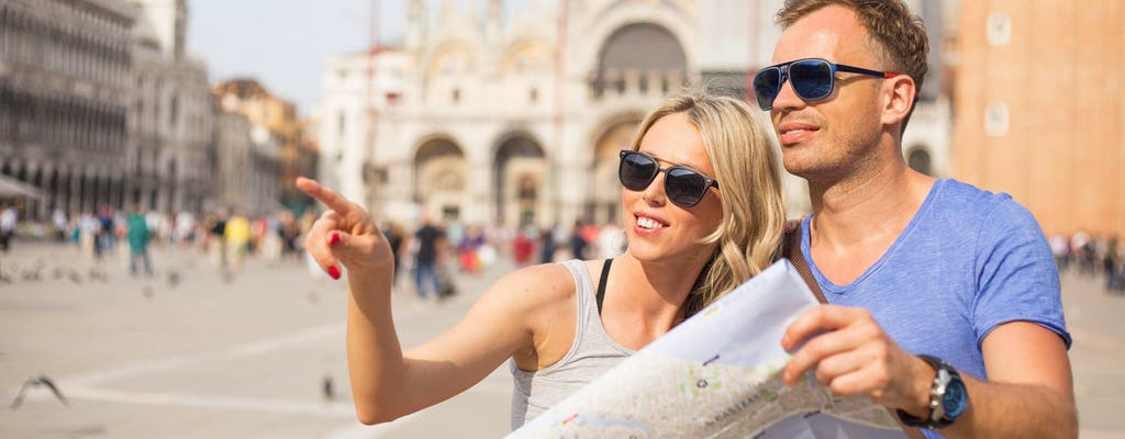 Guided walking tour of Venice & private gondola ride