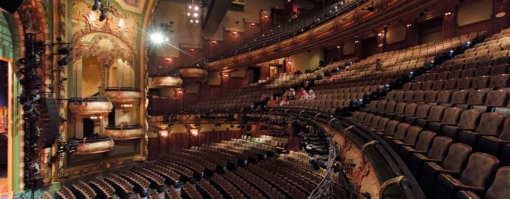Disney on Broadway exclusive tour behind the magic with New Amsterdam Theatre