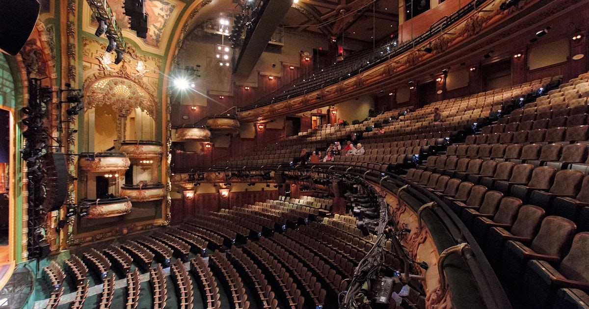 Behind The Magic New Amsterdam Theatre Tour