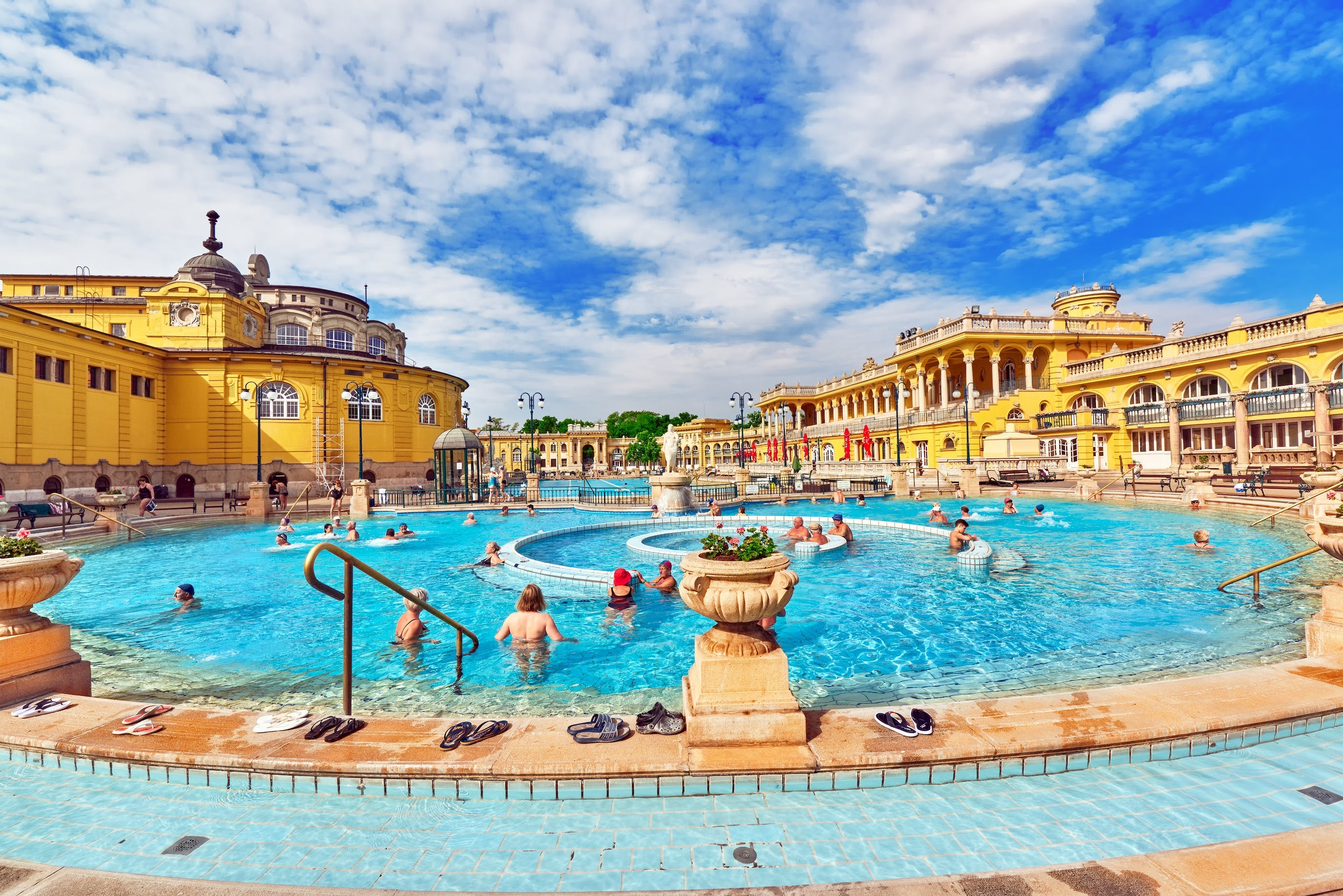 Budapest Szechenyi spa skip-the-line entrance with optional transfer