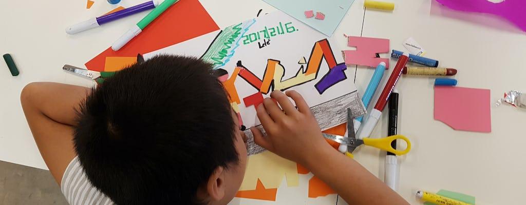 Percorsi creativi in Pirelli HangarBicocca: Muri d'artista (4-6 anni)