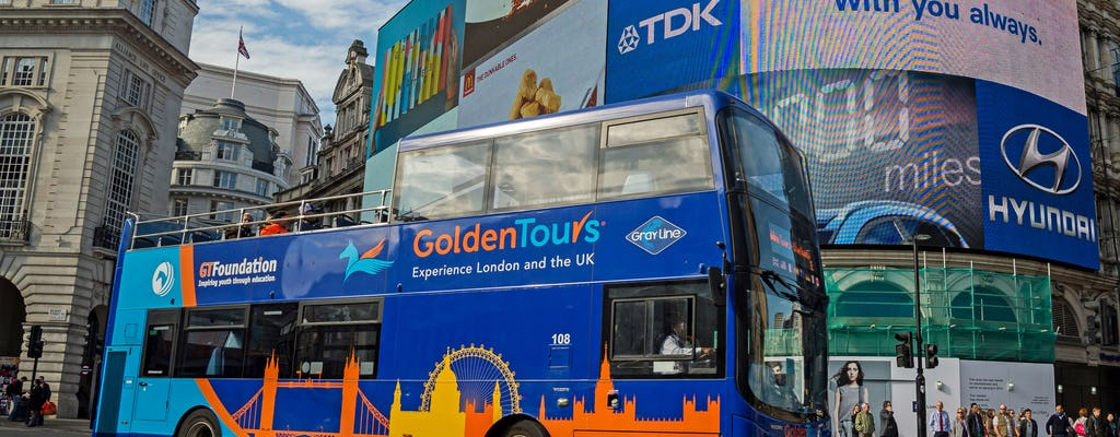 24-uur durende hop-on hop-off bustour door Londen