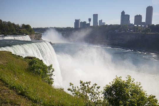 Two-day Niagara Falls and outlet shopping excursion from NYC