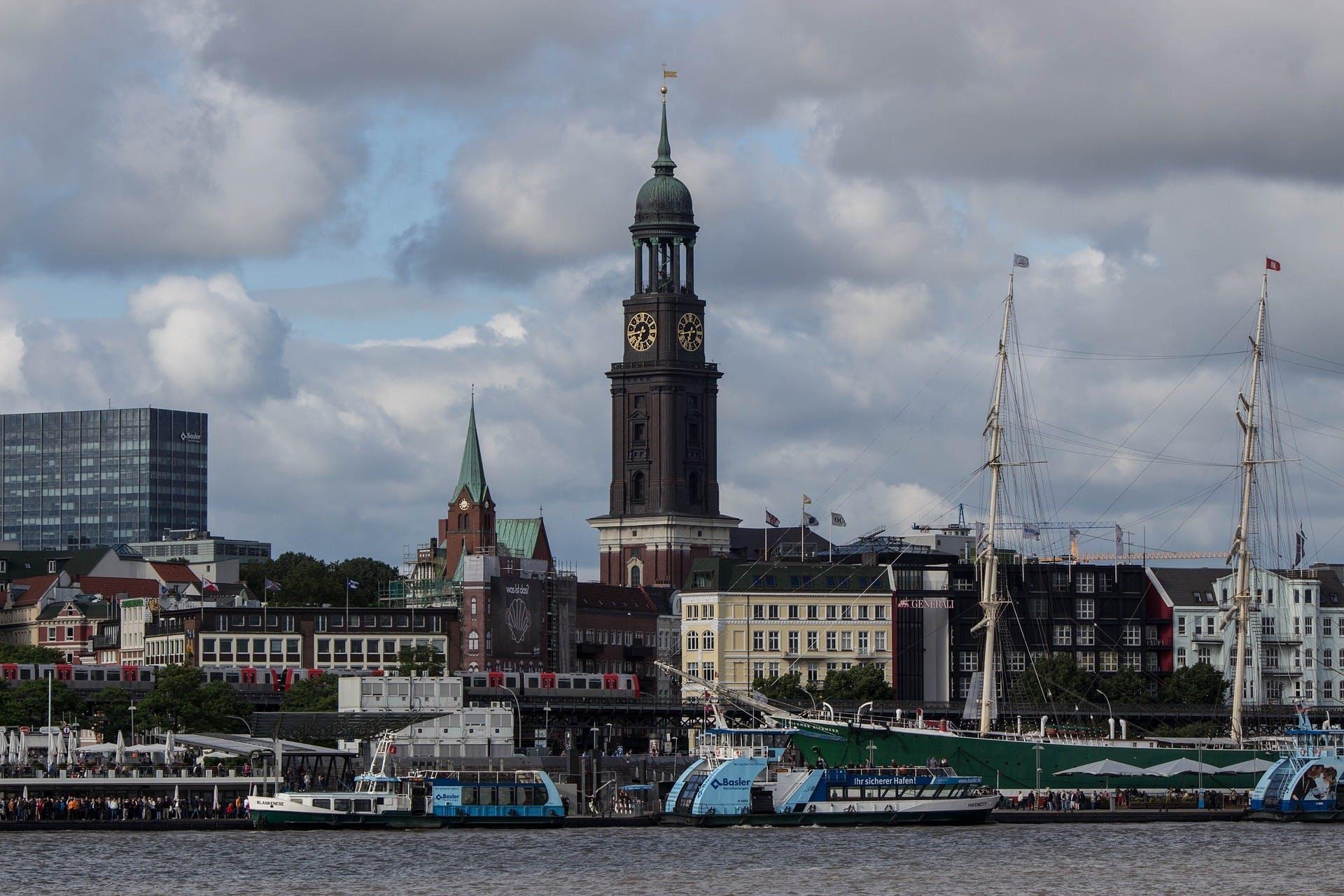 Ver la ciudad,Tours andando,Tour por Hamburgo