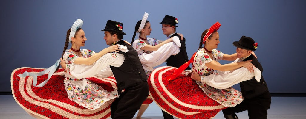 Hungarian dance performance and Danube river cruise with dinner