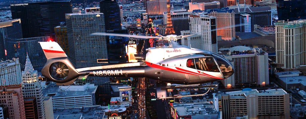 Vegas Nights Las Vegas Strip tour en hélicoptère de Las Vegas