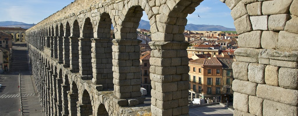 Segovia and Toledo tour from Madrid with skip-the-line tickets to the cathedral and the Alcázar