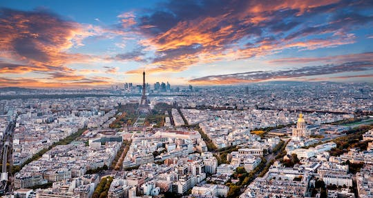 Tour Montparnasse 56. Stock und Terrasse Tickets