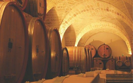 Visita e degustazione vini del Salento da Leone de Castris