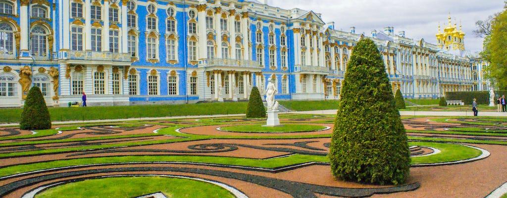 Zwiedzanie pałaców Katarzyny i Pawłowska z Petersburga
