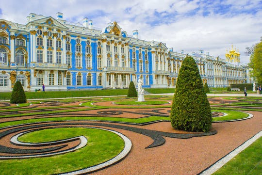 Private Tour Katharinenpalast und Pawlowsk Residenz mit Transfer ab St. Petersburg