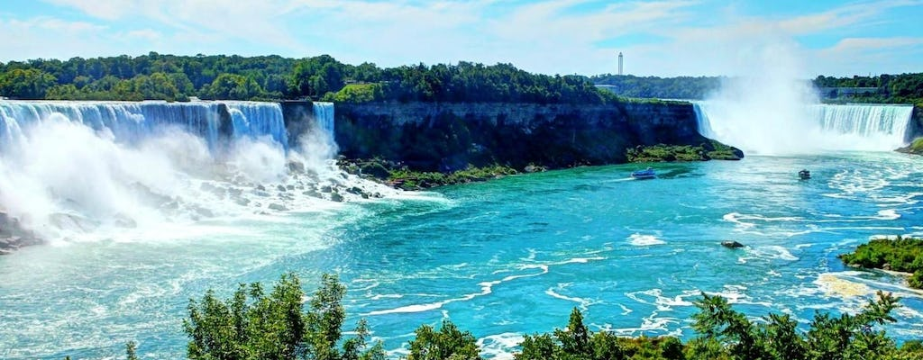 Niagara Falls sightseeing tour with wine sampling