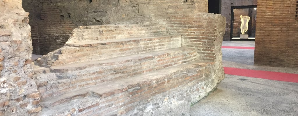 Piazza Navona underground - Stadium of Domitian entrance tickets and audioguide