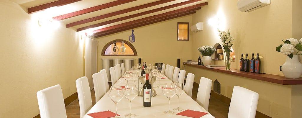 Degustação de vinhos Supertuscan em Sapaio Winery