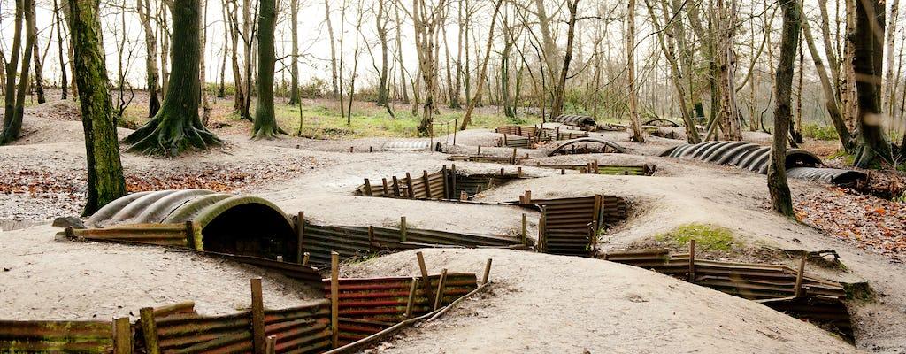 Viagem de um dia para o campo de batalha da Flandres belga de Paris
