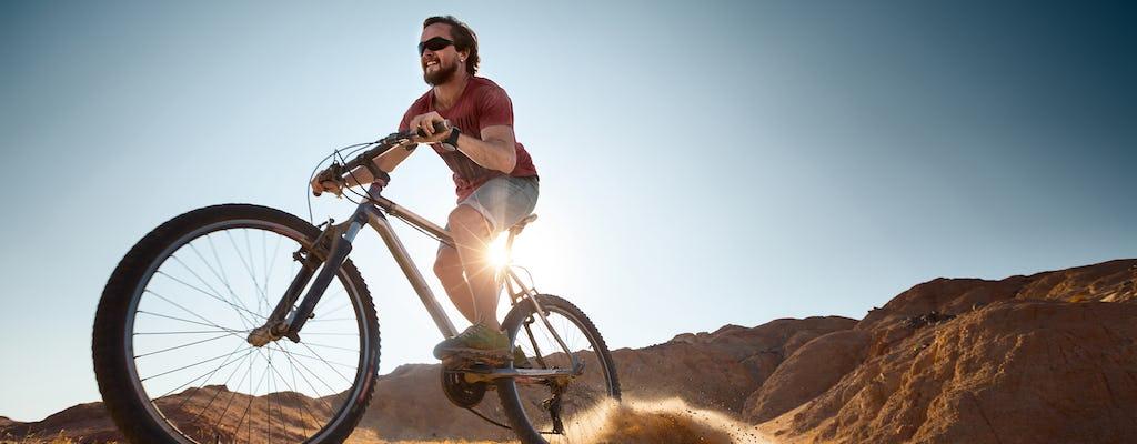 Novice desert bike tour