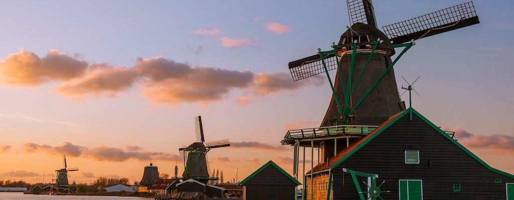 Da Amsterdam: escursione estesa della campagna olandese con Volendam, Marken e molto altro