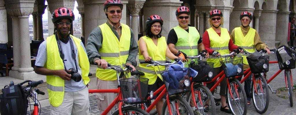 Guided City Tour by Bike in Budapest