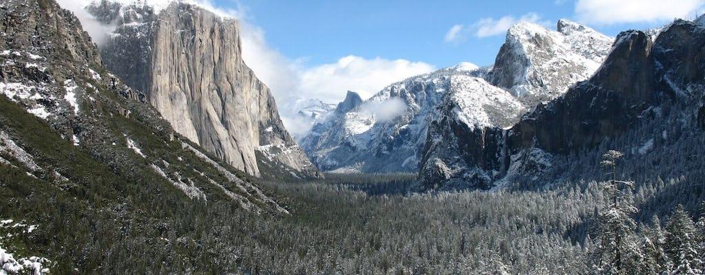 Tour de 2 días de invierno en Yosemite