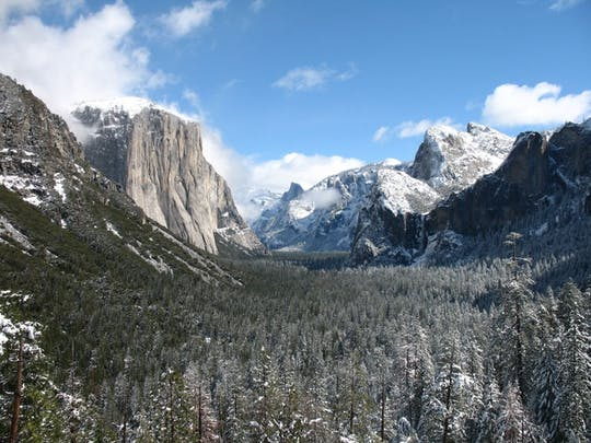 Yosemite 2-day winter tour