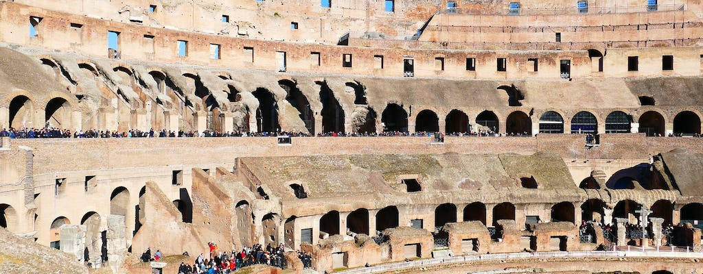 Archaeological Rome tour, Colosseum, Roman Forum and Palatine Hill