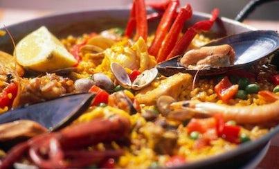Gastronomía,Comidas y cenas especiales,Tours enológicos,Excursión a la Albufera,Paella Horchata