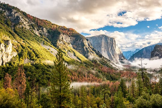 Overnight Yosemite tour with stay at Valley Lodge