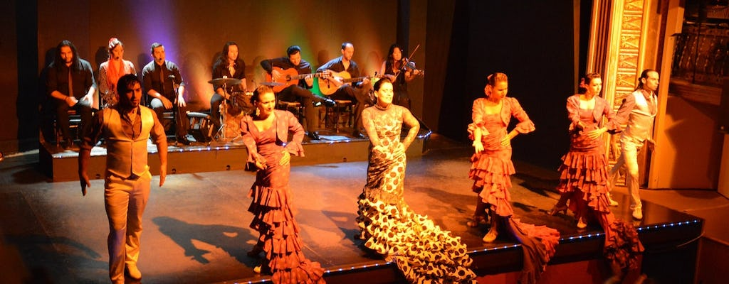 New year's eve party and flamenco show with optional dinner