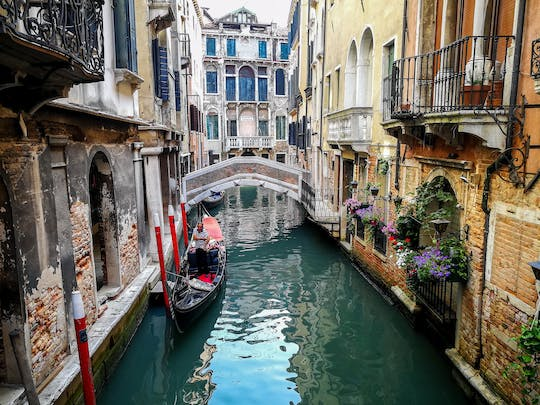 Grand Canal boat tour for small groups