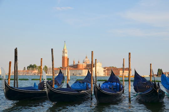 Venice walking tour with gondola ride