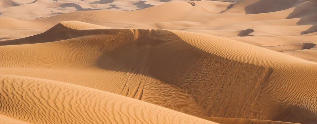 Утреннее сафари по пустыне Дубай