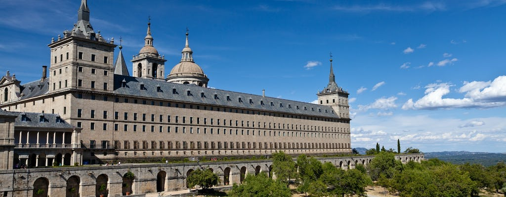 Escorial & Valley of the Fallen half-day tour and Madrid self-balancing  scooter tour