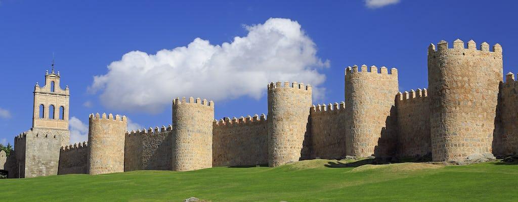 Excursão de um dia a Segóvia e Ávila saindo de Madrid