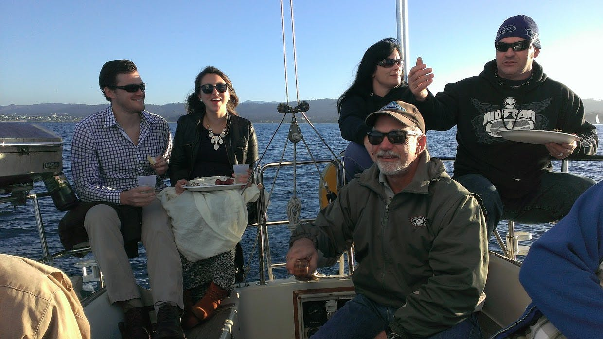 Monterey Bay Sunset Appetizer Cruise With Wine
