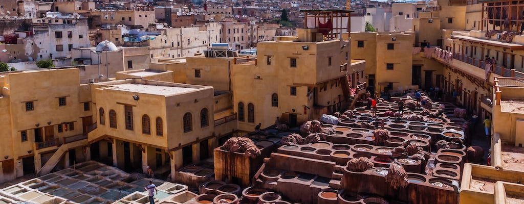 Sightseeing Fez da Casablanca in 1 giorno